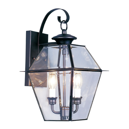 Livex Lighting Livex Lighting Westover Black Outdoor Wall Light 2281-04