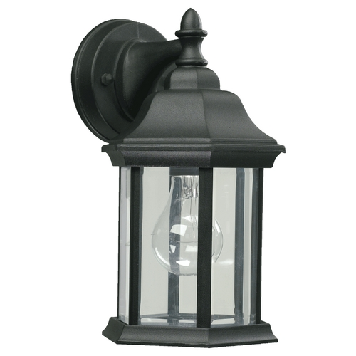 Quorum Lighting Quorum Lighting Black Outdoor Wall Light 787-15