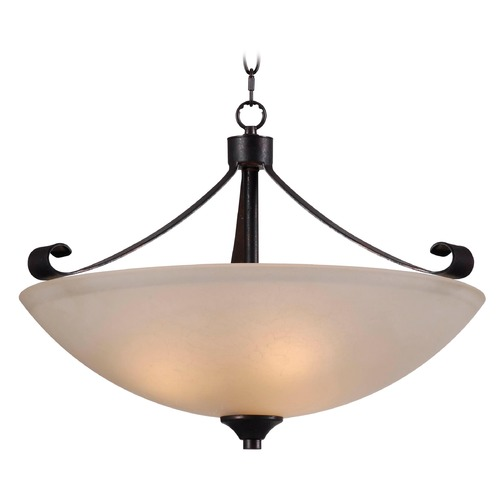 Kenroy Home Lighting Kenroy Home Lighting Alto Chocolate Caramel Pendant Light 93323CHC