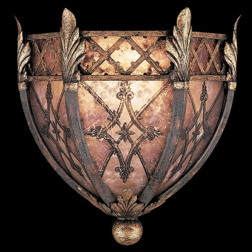 Fine Art Lamps Fine Art Lamps Villa 1919 Umber with Gilded Accents Sconce 166950ST