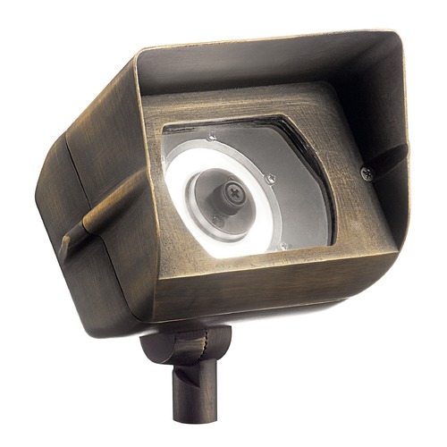 Kichler Lighting Kichler Lighting Centennial Brass Low Voltage LED Flood - Spot Light 3000K 16070CBR30