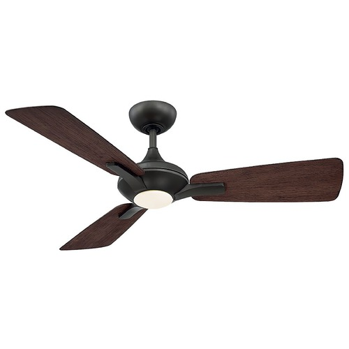 Modern Forms by WAC Lighting Modern Forms Bronze 52-Inch LED Smart Ceiling Fan 2700K 1110LM FR-W1819-52L27BZDW