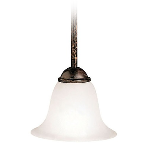 Kichler Lighting Kichler Mini-Pendant Light with White Glass 2771TZ