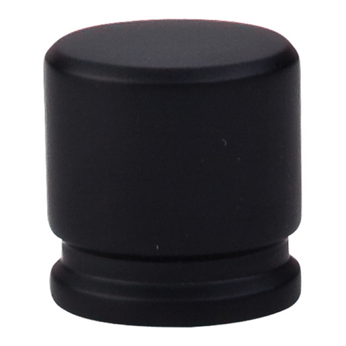 Top Knobs Hardware Modern Cabinet Knob in Flat Black Finish TK59BLK