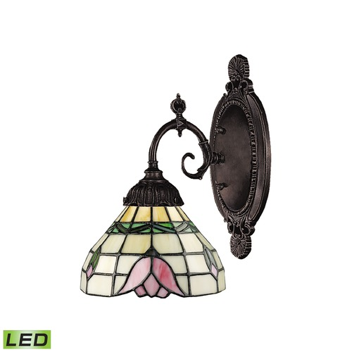 Elk Lighting Elk Lighting Mix-N-Match Tiffany Bronze LED Sconce 071-TB-09-LED