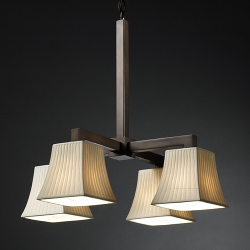 Justice Design Group Justice Design Group Limoges Collection Chandelier POR-8920-40-WFAL-DBRZ