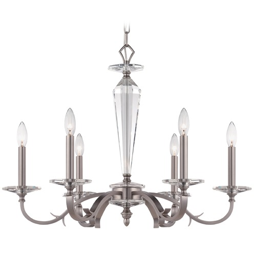 Crystorama Lighting Crystorama Lighting Hugo Pewter Chandelier 2236-PW