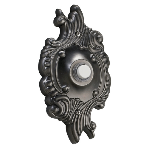 Quorum Lighting Quorum Lighting Antique Silver Doorbell Button 7-309-92