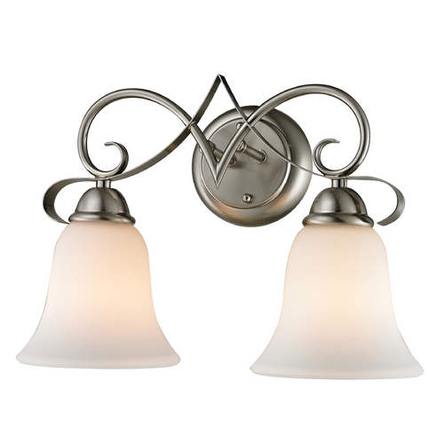 Cornerstone Lighting Cornerstone Lighting Brighton Brushed Nickel Bathroom Light 1002BB/20