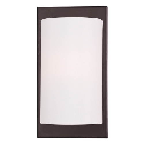 Livex Lighting Livex Lighting Meridian Bronze Sconce 50860-07