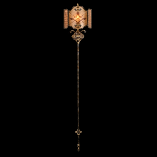 Fine Art Lamps Fine Art Lamps Villa 1919 Umber with Gilded Accents Sconce 427050ST
