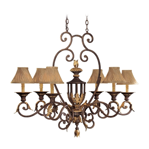 Metropolitan Lighting Chandelier Light in Golden Bronze Finish - Shades Not Included N6234-355