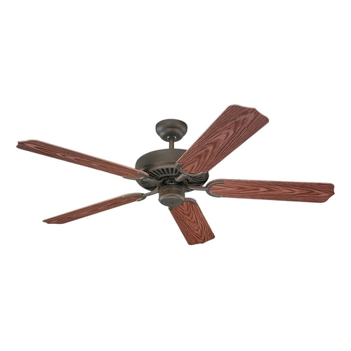 Monte Carlo Fans Ceiling Fan Without Light in Roman Bronze Finish 5WF52RB