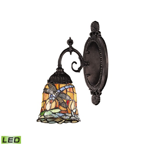 Elk Lighting Elk Lighting Mix-N-Match Tiffany Bronze LED Sconce 071-TB-12-LED