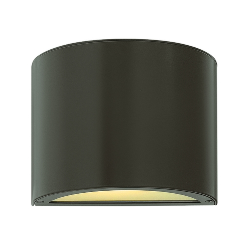 Hinkley Lighting Modern Outdoor Wall Light with Etched in Bronze Finish 1666BZ