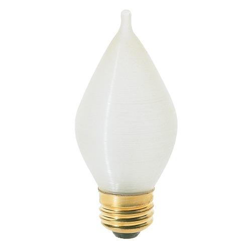 Satco Lighting Incandescent C15 Light Bulb Medium Base 120V Dimmable by Satco S2714