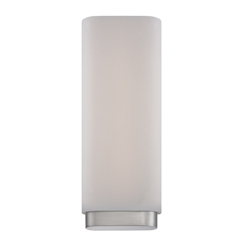 Modern Forms by WAC Lighting Modern Forms Vogue Brushed Nickel LED Sconce WS-2917-BN