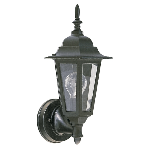 Quorum Lighting Quorum Lighting Black Outdoor Wall Light 790-15