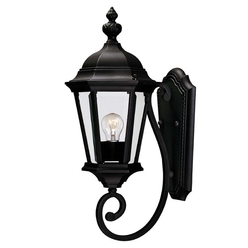 Savoy House Savoy House Textured Black Outdoor Wall Light 5-1302-BK