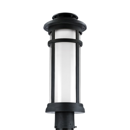Feiss Lighting Feiss Lighting Oakfield Dark Weathered Zinc LED Post Light OL12507DWZ-LED