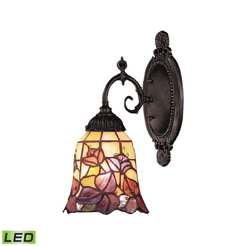 Elk Lighting Elk Lighting Mix-N-Match Tiffany Bronze LED Sconce 071-TB-17-LED