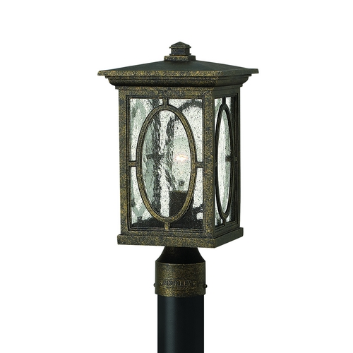 Hinkley Lighting Post Light with Clear Glass in Autumn Finish 1491AM