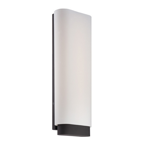 Modern Forms by WAC Lighting Modern Forms Vogue Bronze LED Sconce WS-2917-BZ