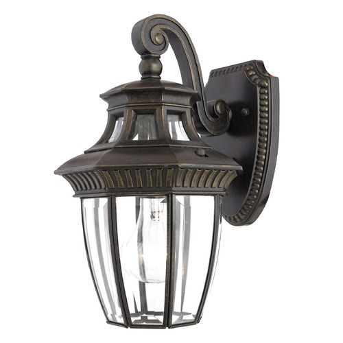 Quoizel Lighting Quoizel Georgetown Imperial Bronze Outdoor Wall Light GT8980IBFL