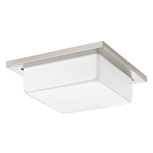 Progress Lighting Progress Lighting Transit Brushed Nickel LED Flushmount Light P3411-0930K9