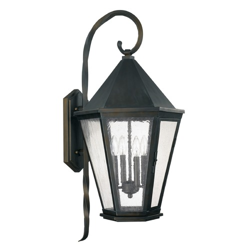 Capital Lighting Capital Lighting Spencer Old Bronze Outdoor Wall Light 9629OB