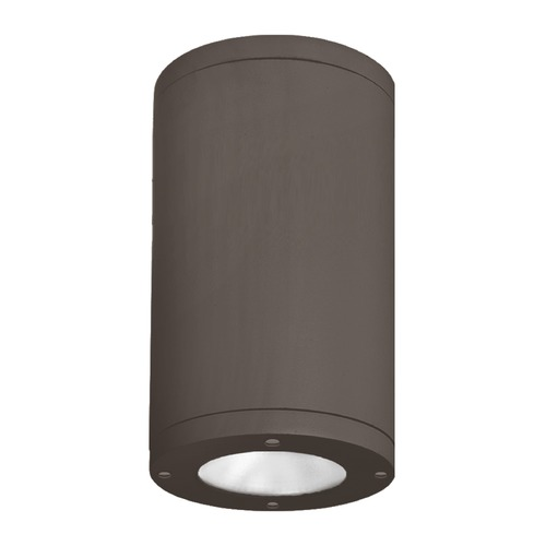 WAC Lighting 6-Inch Bronze LED Tube Architectural Flush Mount 4000K 2405LM DS-CD06-F40-BZ