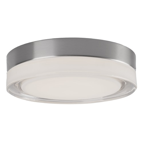 Kuzco Lighting Kuzco Lighting Bedford Brushed Nickel LED Flushmount Light FM3511-BN/CL