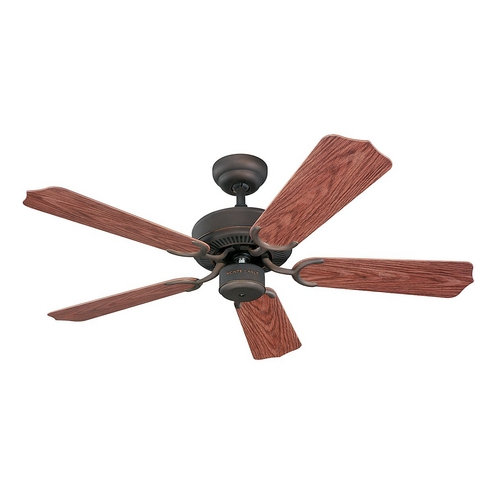 Monte Carlo Fans Ceiling Fan Without Light in Roman Bronze Finish 5WF42RB