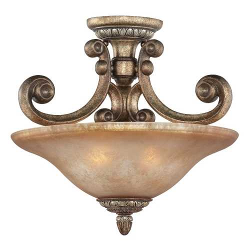 Dolan Designs Lighting Semi-Flush Ceiling Light 2405-162
