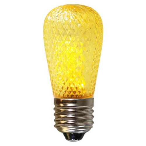 American Lighting American Lighting Yellow Color S14 LED Light Bulb - 10-Watt Equivalent S14-LED-YE