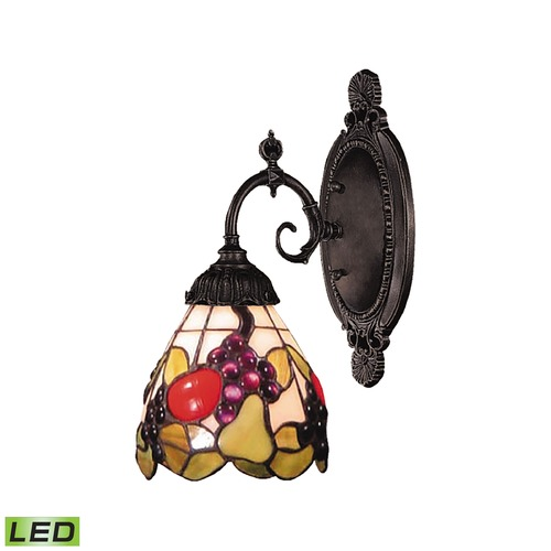Elk Lighting Elk Lighting Mix-N-Match Tiffany Bronze LED Sconce 071-TB-19-LED