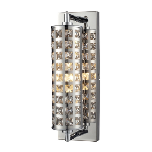 Elk Lighting Crystallure Chrome Bathroom Light - Vertical Mounting Only 31346/1