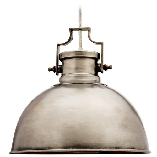 Kenroy Home Lighting Kenroy Home Lighting Nautilus Antique Nickel Pendant Light 92065ANI