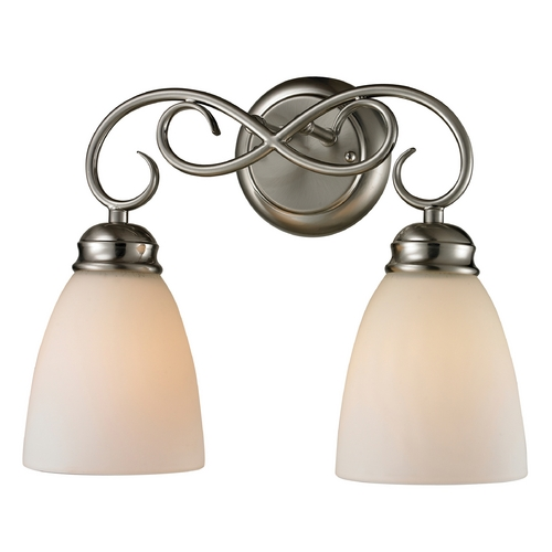 Cornerstone Lighting Cornerstone Lighting Chatham Brushed Nickel Bathroom Light 1102BB/20