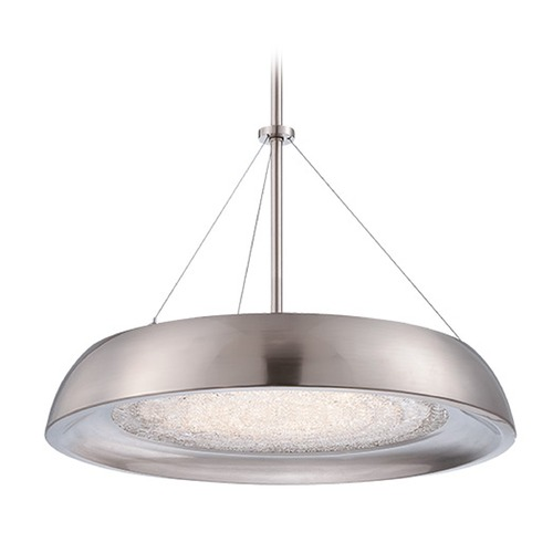 Modern Forms by WAC Lighting Soleil LED Chandelier PD-51418-BN