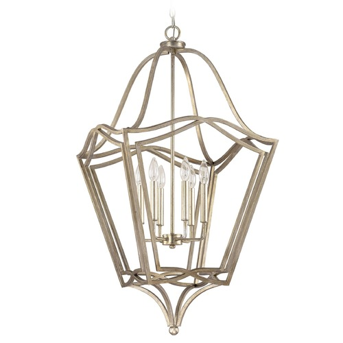 Capital Lighting Capital Lighting Foyer Winter Gold Pendant Light 9652WG