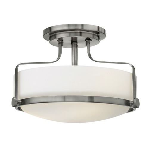 Hinkley Lighting Hinkley Lighting Harper Brushed Nickel Semi-Flushmount Light 3641BN-GU24