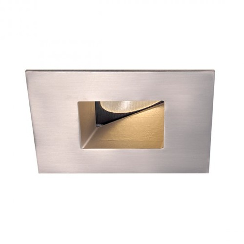 WAC Lighting WAC Lighting Square Brushed Nickel 2-Inch LED Recessed Trim 2700K 620LM 45 Degree HR2LEDT509PF927BN