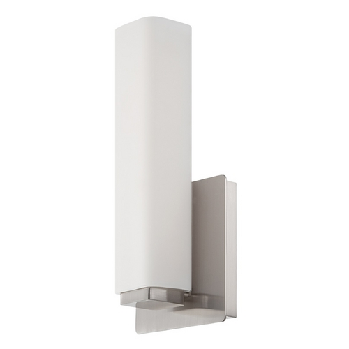 Modern Forms by WAC Lighting Modern Forms Vogue Brushed Nickel LED Sconce WS-3111-BN