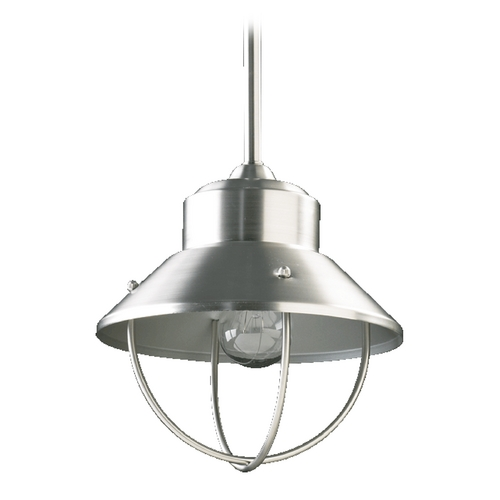 Quorum Lighting Quorum Lighting Satin Nickel Mini-Pendant Light 3611-1-65
