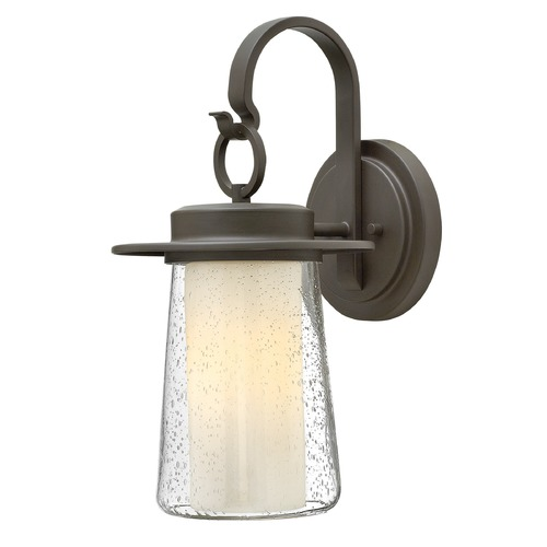 Hinkley Lighting Hinkley Lighting Riley Oil Rubbed Bronze Outdoor Wall Light 2010OZ-GU24
