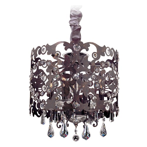 Allegri Lighting Bizet 4 Light Chandelier w/ Swarovski Elements Crystal w/ Sienna Bronze 10247-013-SE001