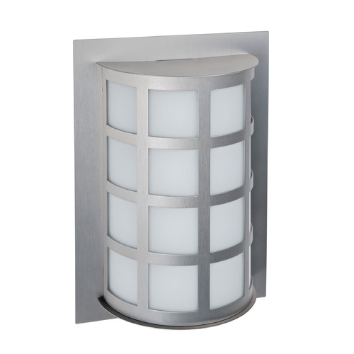Besa Lighting Besa Lighting Scala Brushed Aluminum LED Outdoor Wall Light SCALA13-WA-LED-BA