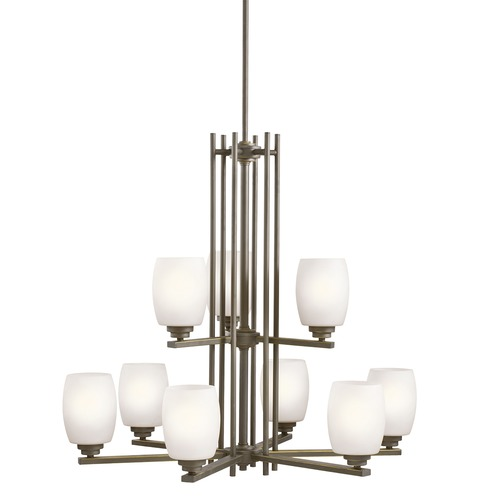Kichler Lighting Kichler Lighting Eileen Olde Bronze LED Chandelier 1897OZSL16