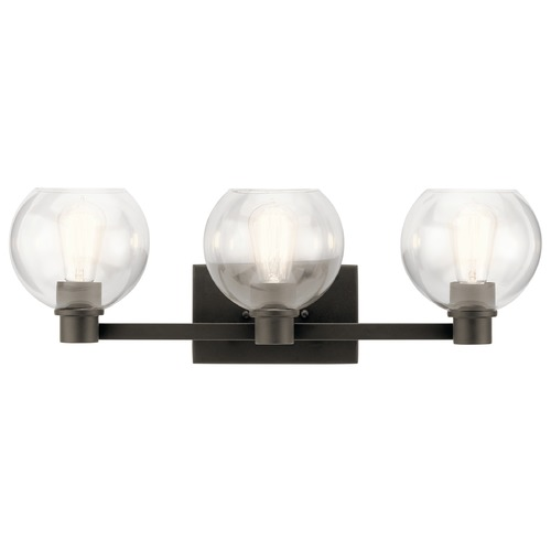 Kichler Lighting Transitional Bathroom Light Olde Bronze Harmony by Kichler Lighting 45894OZ